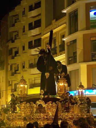 El Nazareno en Placeta (2007). Foto: Sr. Rubio