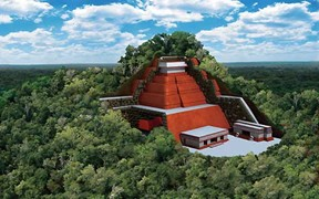 11.Pirámide Maya
