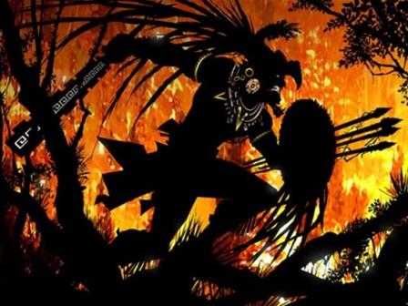 9.Guerrero maya
