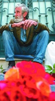El hombre de las flores. Foto: www.madeinhuelva.es