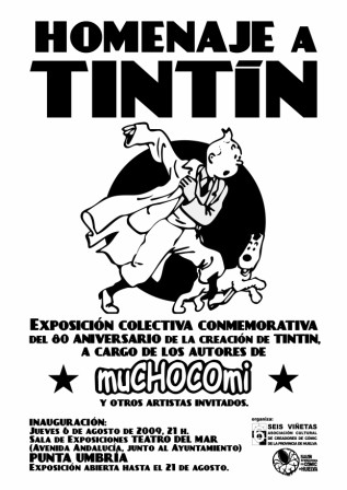 Cartel Expo Tintín