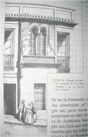 Fotografía del libro Huelva, de Amador de los Ríos