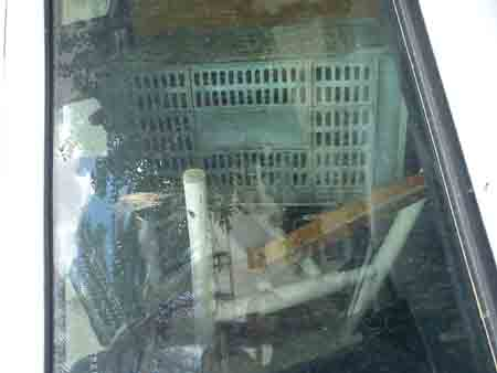 Basura en el interior del coche