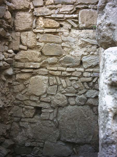 Detalle del muro intermedio
