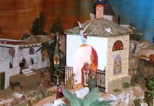 Portal del Belén de las Tres Caídas.