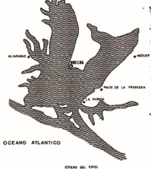Paleografia ría de Huelva