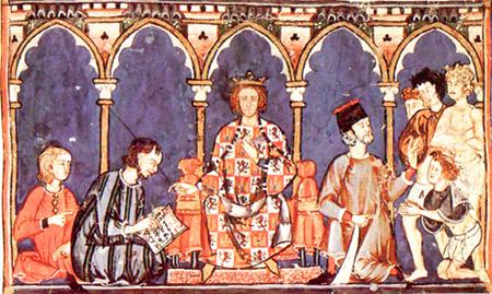 Alfonso X conquistador de Niebla