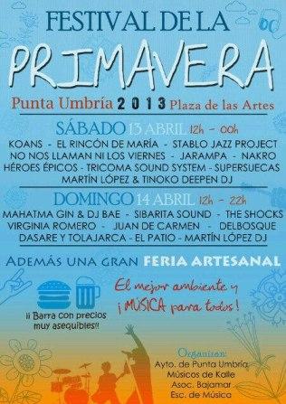 Festival Primavera Punta Umbria