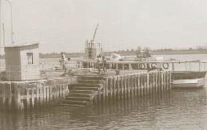 Muelle de las Canoas de Punta Umbría