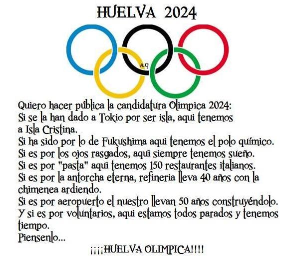 huelva olimpica