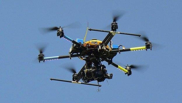 """Prototipo del Drone """"Caza Cacacas"""""""
