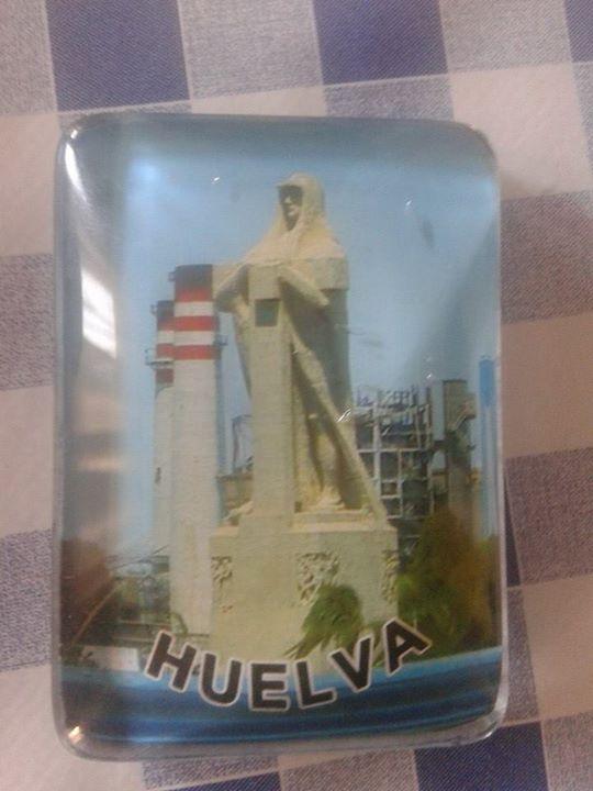 Iman souvenir de Huelva