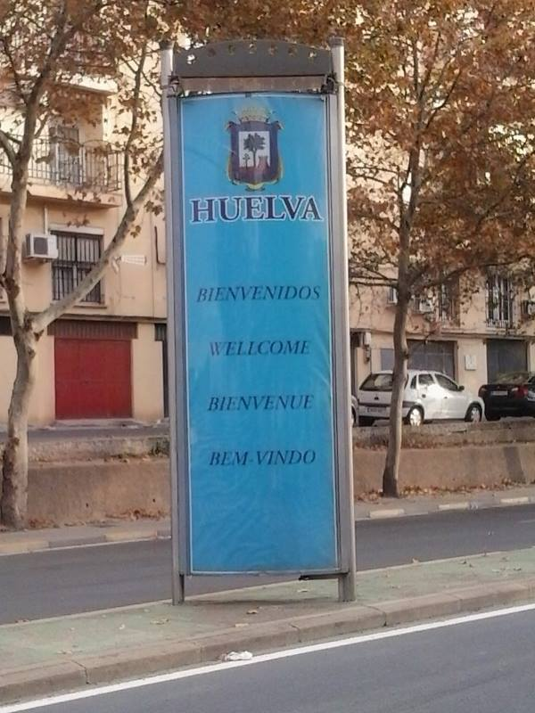 Wellcome to Huelva