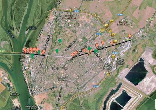 Tornado-Huelva-Trayectoria