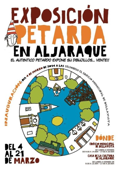 Cartel Exposición Petarda