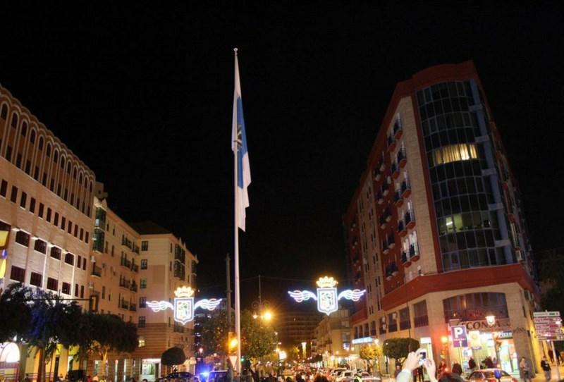 Bandera Gigante Huelva